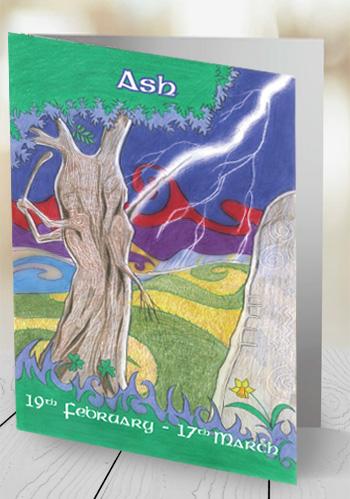 Ash - card