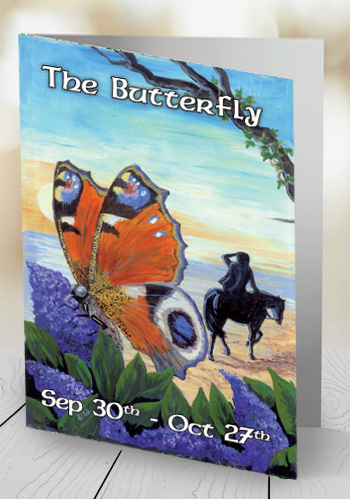 The Butterfly - card