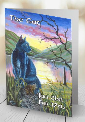 The Cat - card