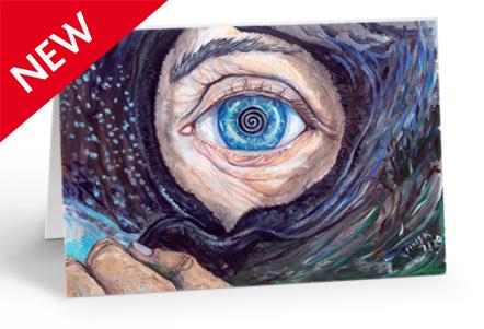 The Eye of the Cailleach - card