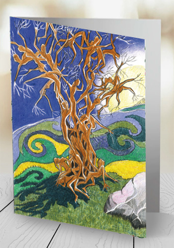 The Fairy Tree - card