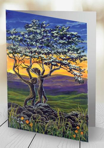 The Fairy Tree II - card