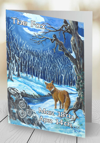The Fox - card