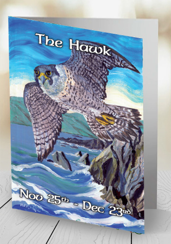 The Hawk - card