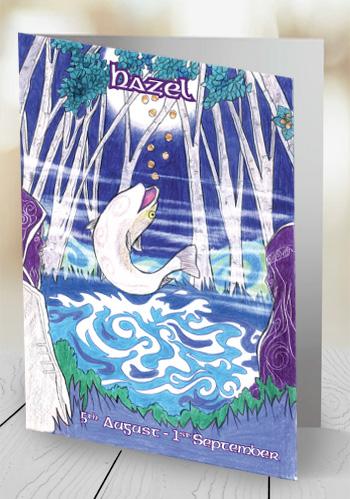 Hazel - card