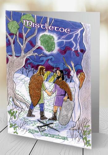 Mistletoe - card
