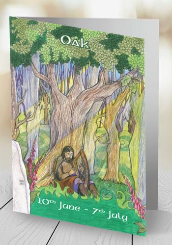 Oak - card