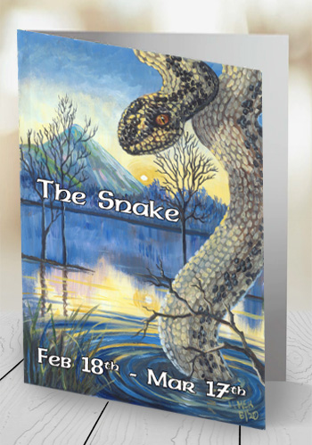 The Snake - card