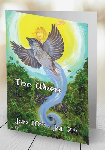 The Wren - card