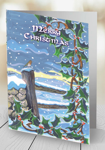 Christmas - Loughcrew - card