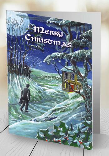 Christmas - Coming home - card