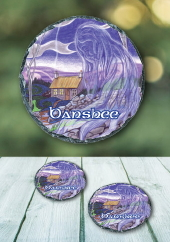 Banshee - slate coaster
