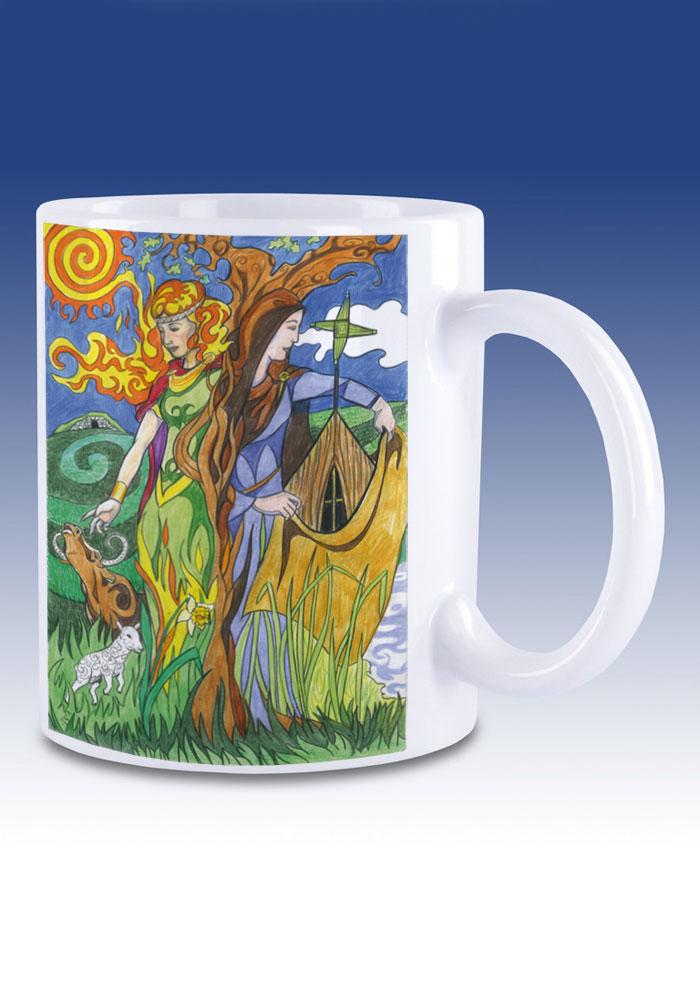 St Brigid - mug