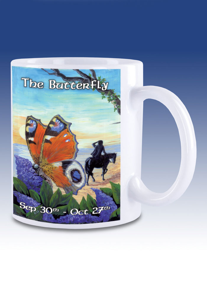 The Butterfly - mug