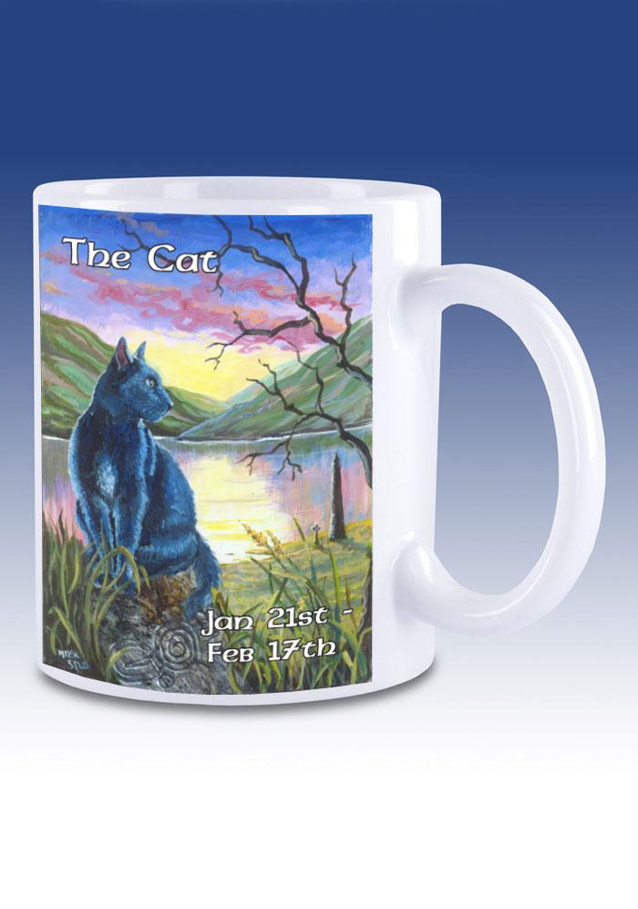 The Cat - mug
