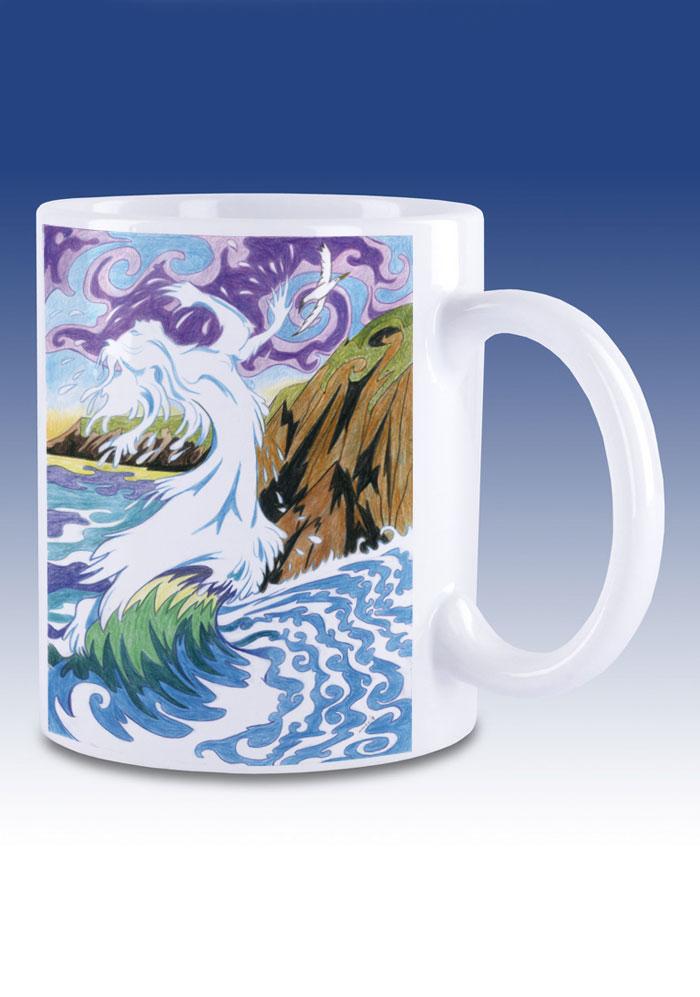 Cliodhna's Wave - mug