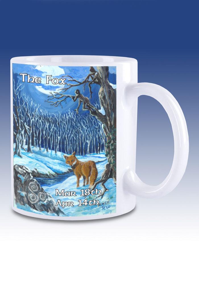 The Fox - mug