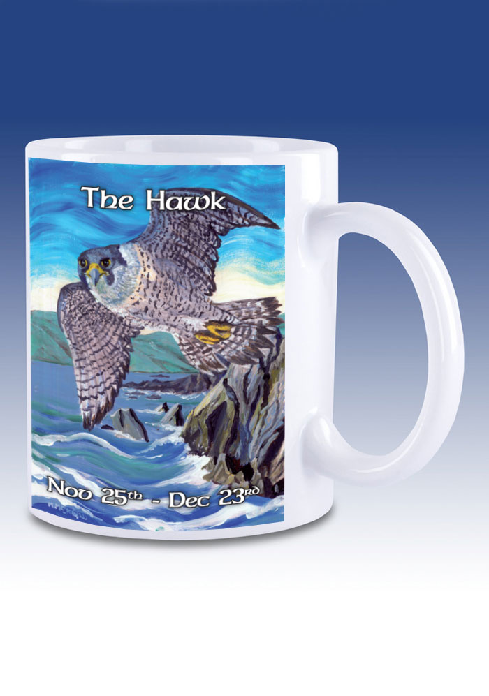 The Hawk - mug