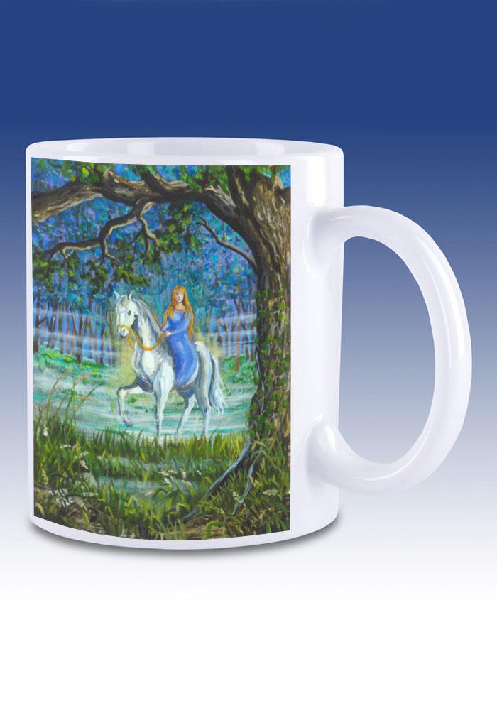Niamh and Tír na nÓg - mug