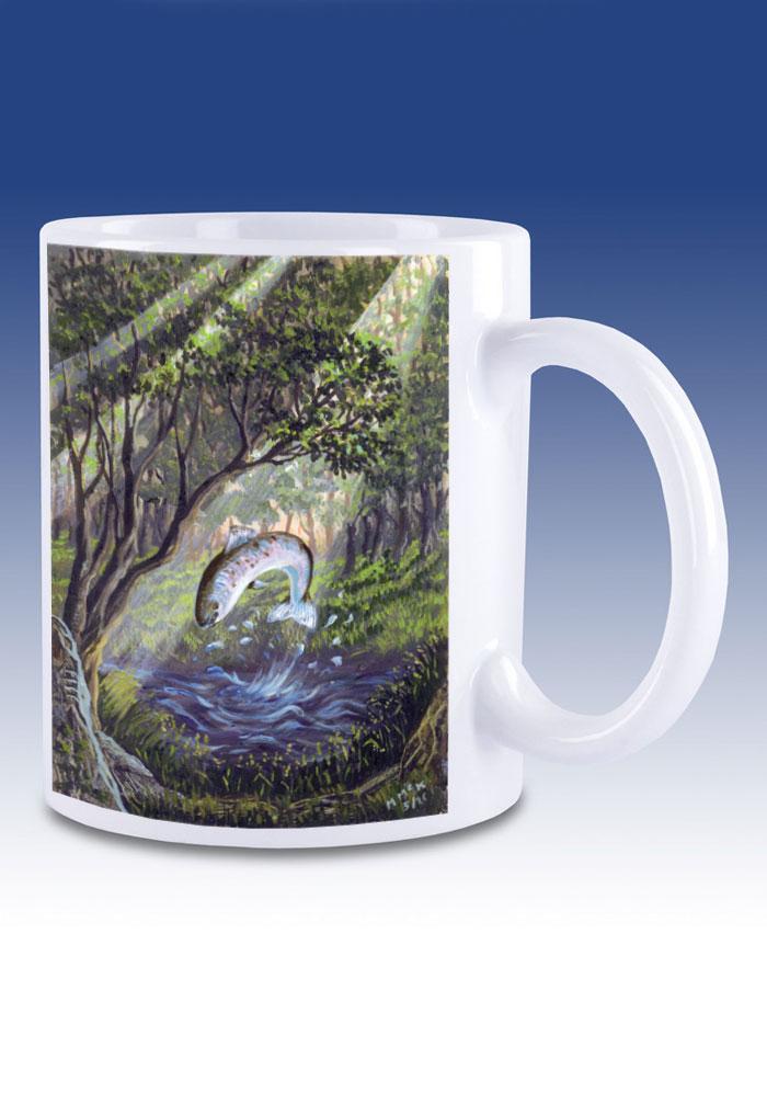 The Salmon of Knowledge - mug