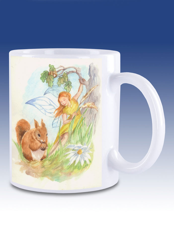 The Squirrel - mug