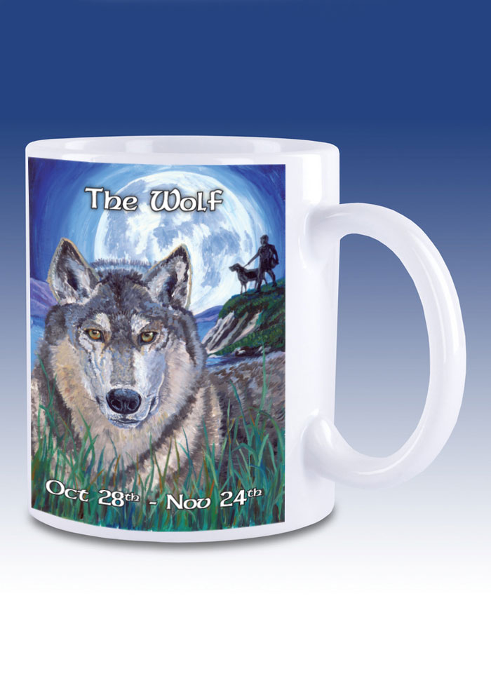 The Wolf - mug