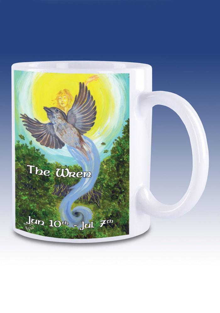 The Wren - mug