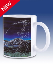 The Cailleach and the Comet - mug