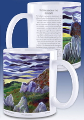 The Cailleach of the elements - mug