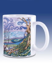 The Sleeping Cailleach - mug