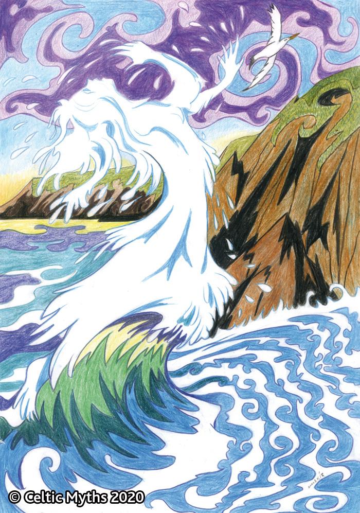 Cliodhna's Wave - print