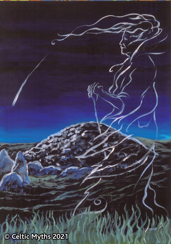 The Cailleach and the Comet - print