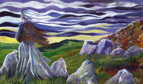The Cailleach of the elements - prints
