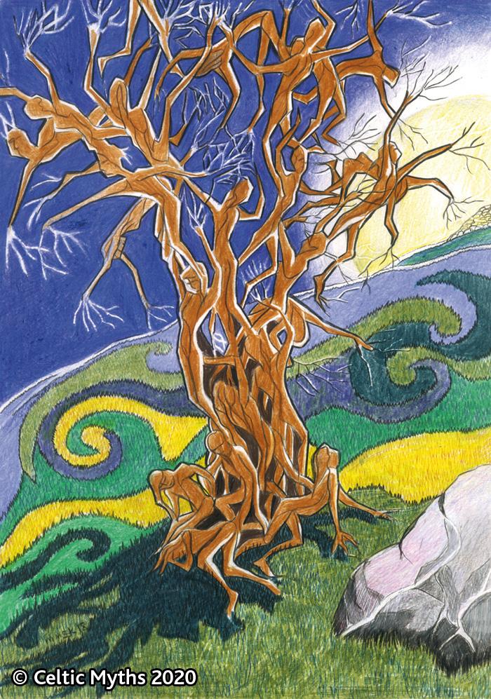 The Fairy Tree - print