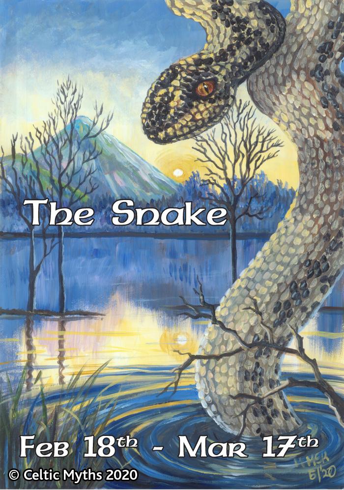 The Snake - print
