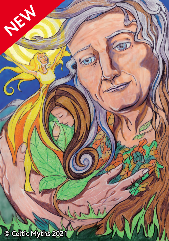 The Cailleach of the ages - prints