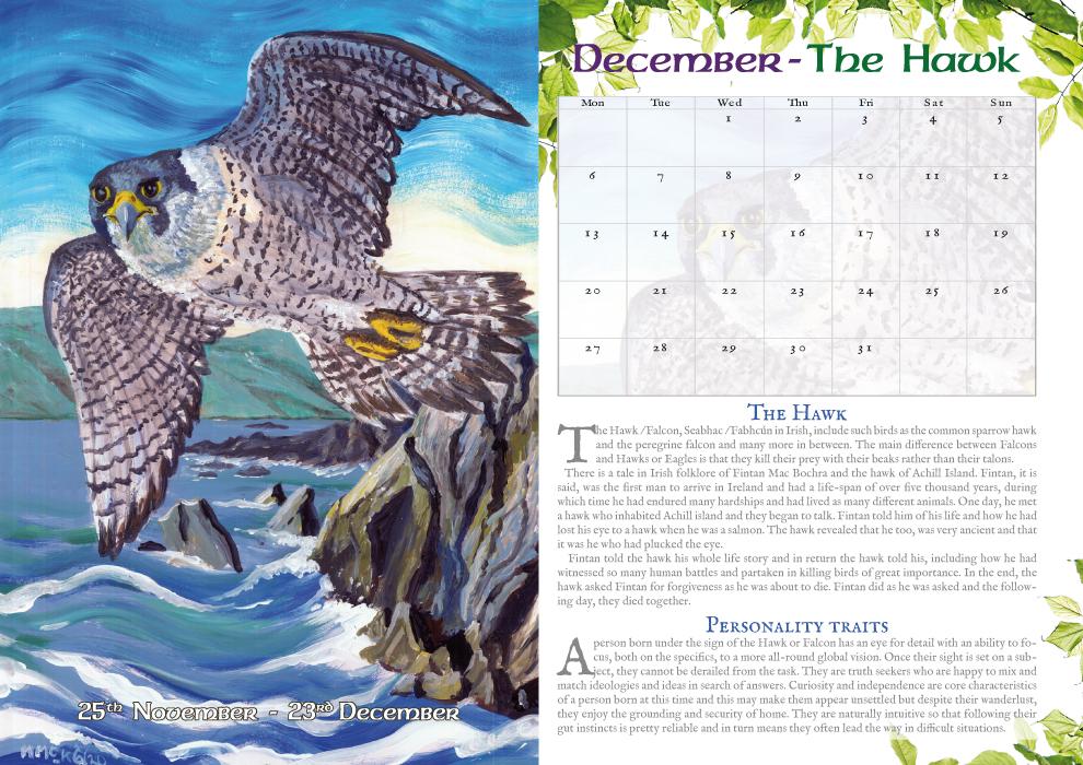 Animal Lore - calendar