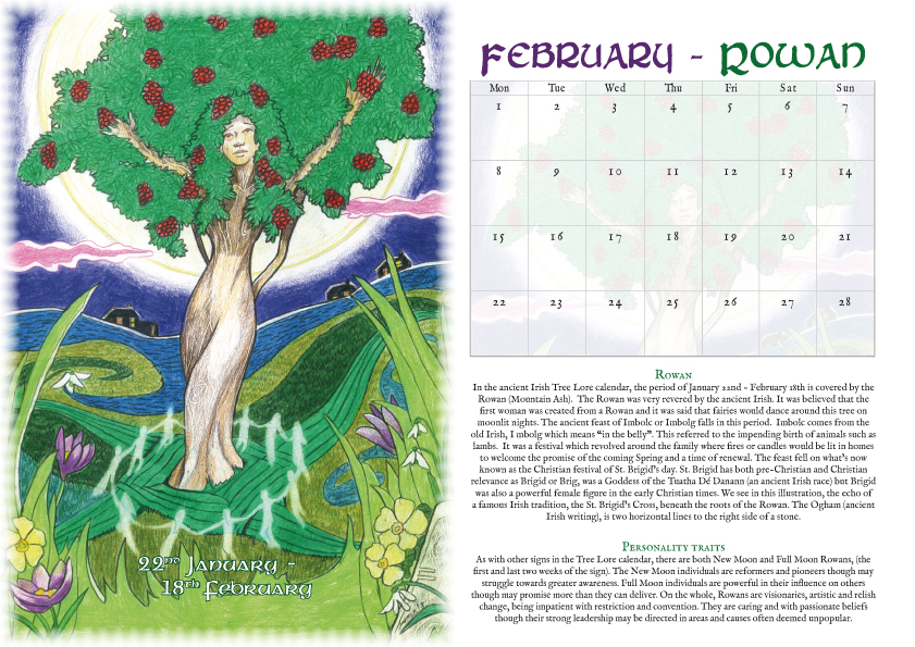 Tree Lore - calendar