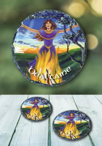 Bealtaine - slate coasters