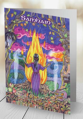 Samhain - card