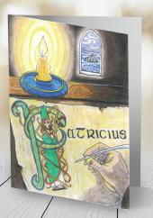 Saint Patrick - card
