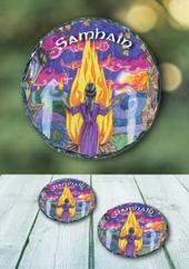 Samhain - slate coasters