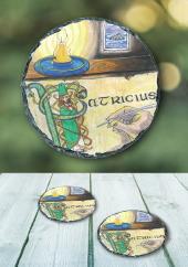 Saint Patrick - slate coasters
