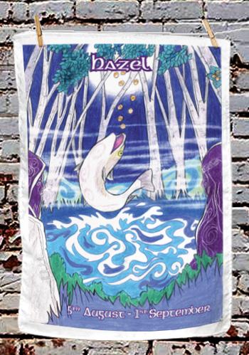 Hazel - tea towel