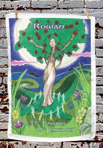 Rowan - tea towel
