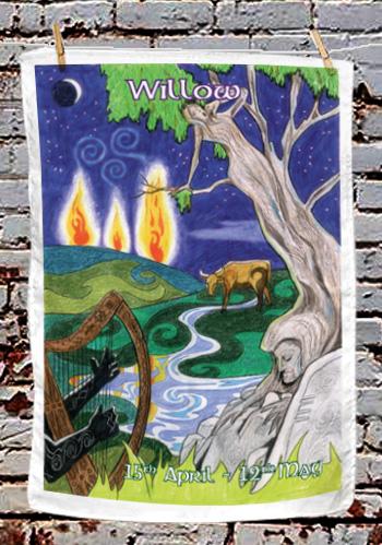 Willow - tea towel